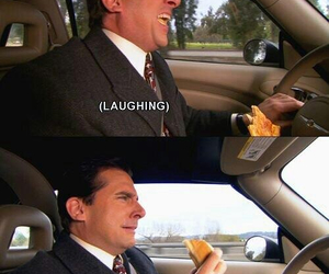 funny, the office, and crying image
