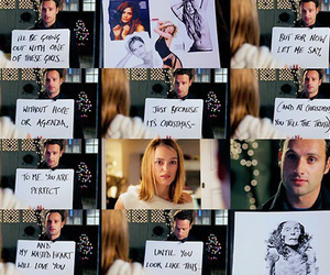 keira knightley, love actually, and to me you are perfect image