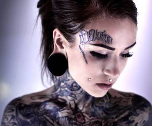 tattoo, girl, and monami frost image