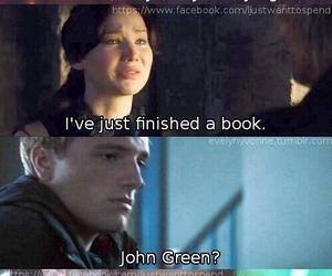 book, Jennifer Lawrence, and reading image