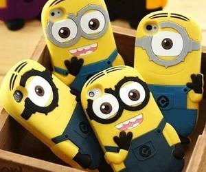 minions, case, and iphone image