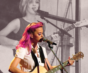 guitar, katy perry, and x factor image