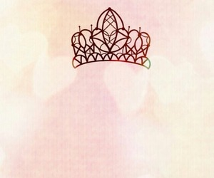background, crown, and pink image