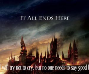 harry potter and it all ends here image