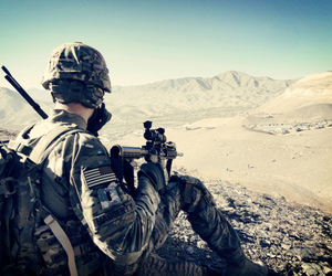 army, soliders, and support image
