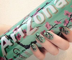 arizona, nails, and flowers image