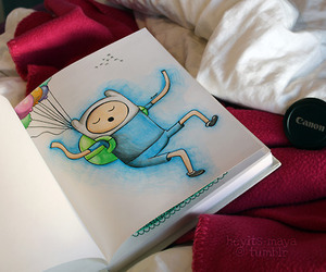 adventure time, art, and finn image