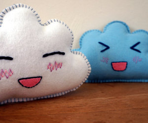 blue, cloud, and kawaii image