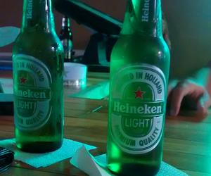 beer, green, and heineken image