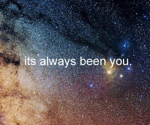 you, text, and stars image