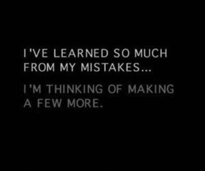 quote, mistakes, and love image