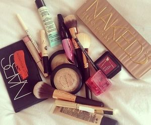 cosmetics, makeup, and girly image