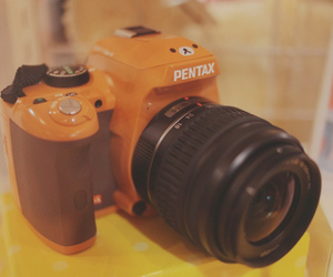 rilakkuma, camera, and kawaii image