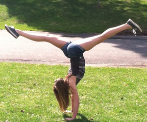 handstand, me, and split image