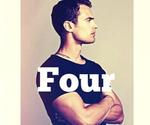 four, divergent, and tobias eaton image