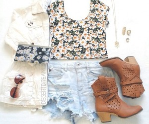 boots, cute, and clothes image