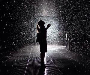Darkness, rain, and rainy days image