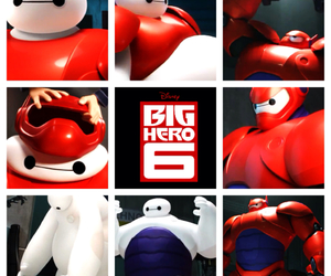 disney, big hero 6, and robot image