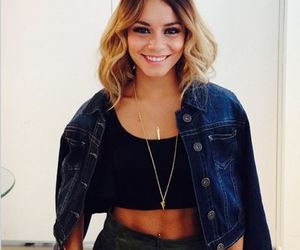 vanessa hudgens, hair, and smile image
