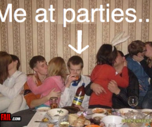 party, forever alone, and alone image
