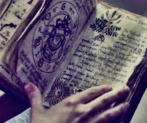 book, aesthetic, and magic image