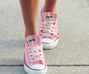 converse, summer, and pink image