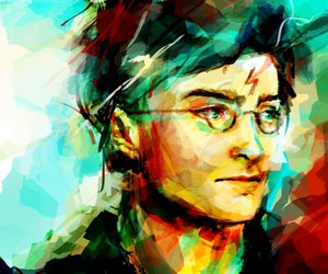 harry potter, art, and harry image