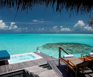 sea, paradise, and beach image