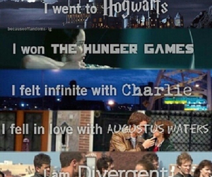 harry potter, ♥♡♥, and the hunger games image