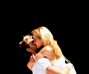 couple, alex pettyfer, and dianna agron image