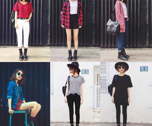fashion, outfit, and pale image