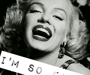 black and white, Marilyn Monroe, and original image