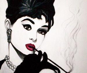 audry hepburn, beauty, and elegance image