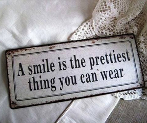 smile, pretty, and quotes image
