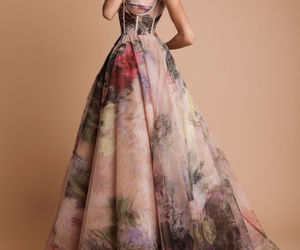 dress and flowers image