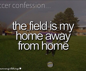 my home, my life, and soccer image