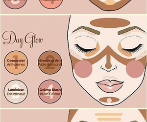 beauty, contour, and tutorial image