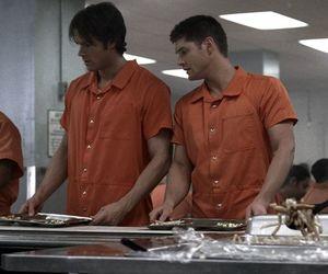 dean winchester, jared padalecki, and Jensen Ackles image