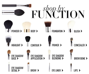 beauty, chic, and brush image