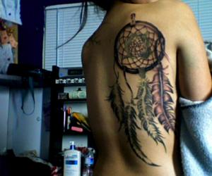tattoo, dream catcher, and dreamcatcher image