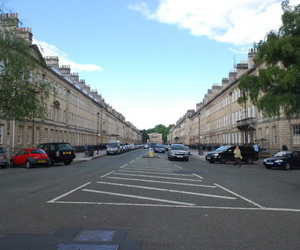 apartments, street, and england image