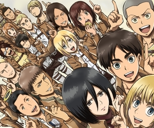 anime, marco, and armin image