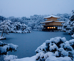 snow, japan, and winter image