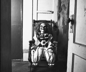 clown, creepy, and horror image