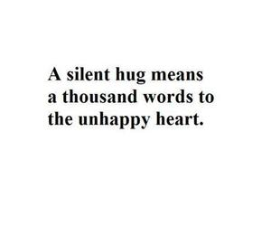 hug, quotes, and love image