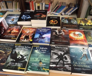 books, percy jackson, and readers image