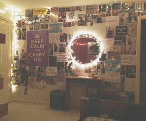 room, light, and tumblr image