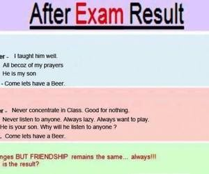 exam and friends image