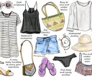 summer, fashion, and girl image