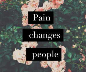 pain, people, and change image
